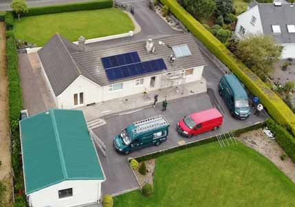 PV Panels Residentail Ireland