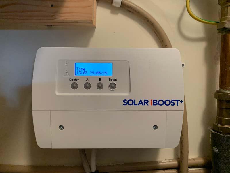 solar iboost installation