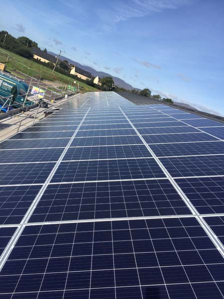 care home cork commercial pv panel installation