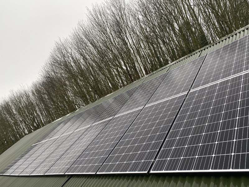 commercial pv installation