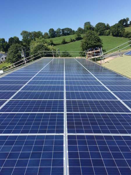 commercial industrial pv installation