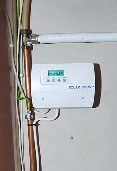 hot water from pv panels ireland