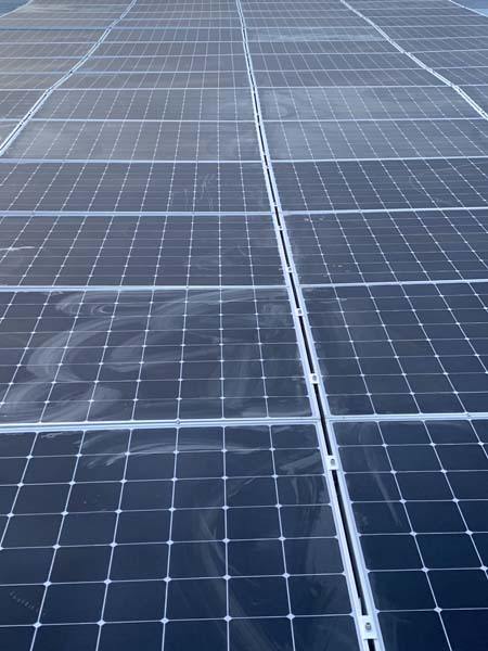 industrial pv installation
