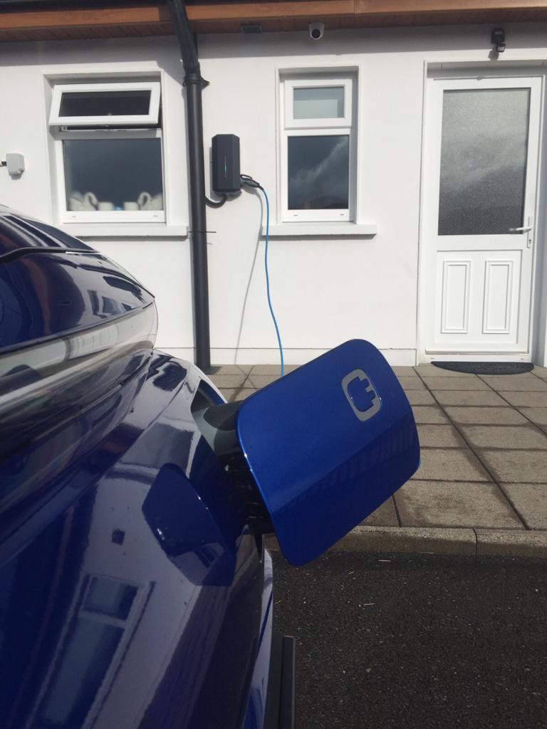 solar pv ev charger ireland limerick installation