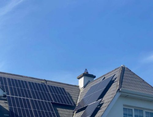 3.1KWp PVs plus we wait on the €2,850 SEAI grant payment and FREE solar Iboost